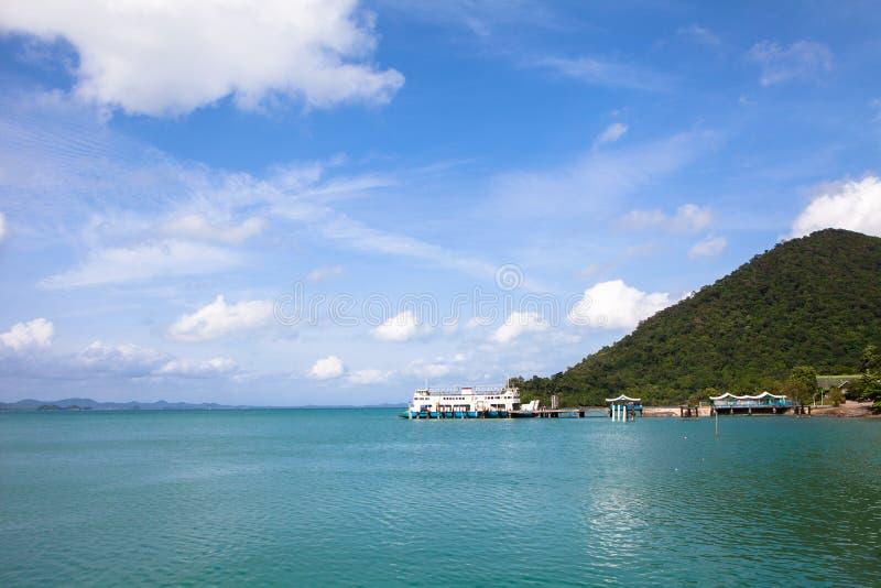 Koh Chang, het landschap van Thailand royalty-vrije stock afbeelding