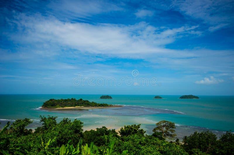 Koh chang. Island sea Koh chang Trad Thailand royalty free stock photo
