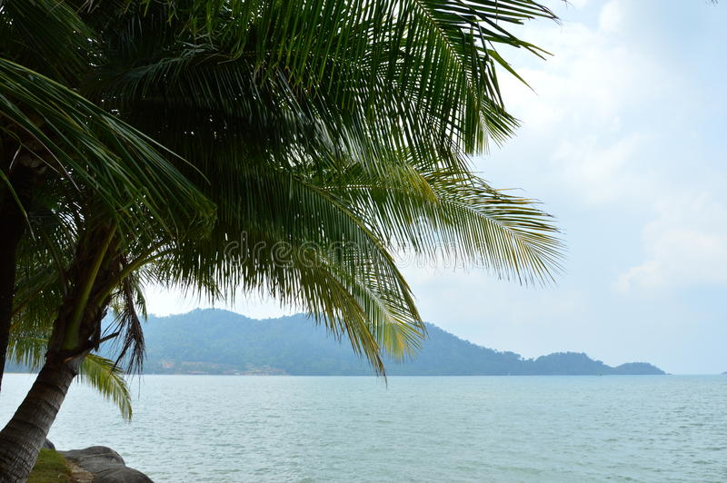 Koh Chang in Thailand stockbilder