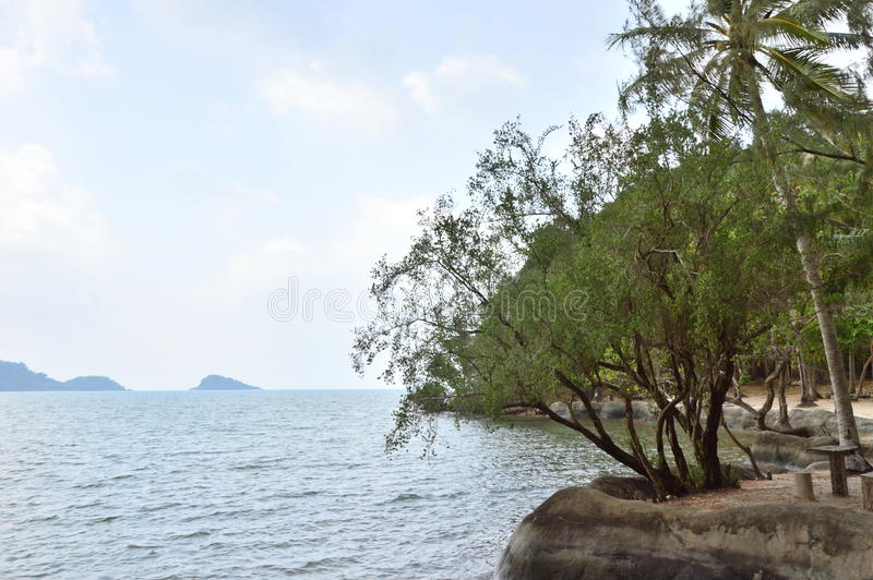 Koh Chang in Thailand stock foto