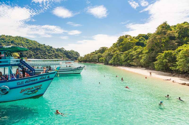Koh Chang in Thailand stock photography