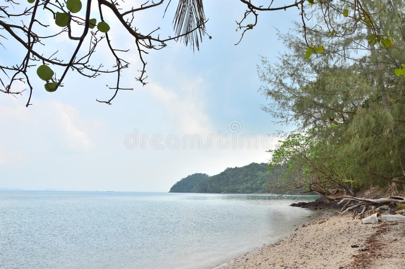 Koh Chang in Thailand royalty free stock image