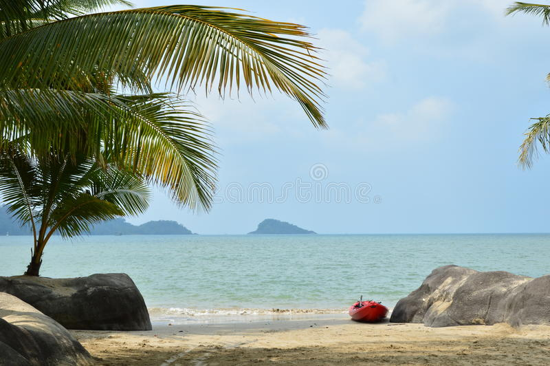 Koh Chang in Thailand royalty free stock photos