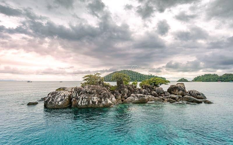 Koh Chang wyspy piękny seascape Thailand obraz stock