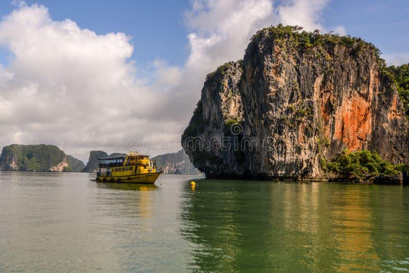 Koh Hong Phang Nga Bay nahe Phuket, Andaman-Meer stockfotografie