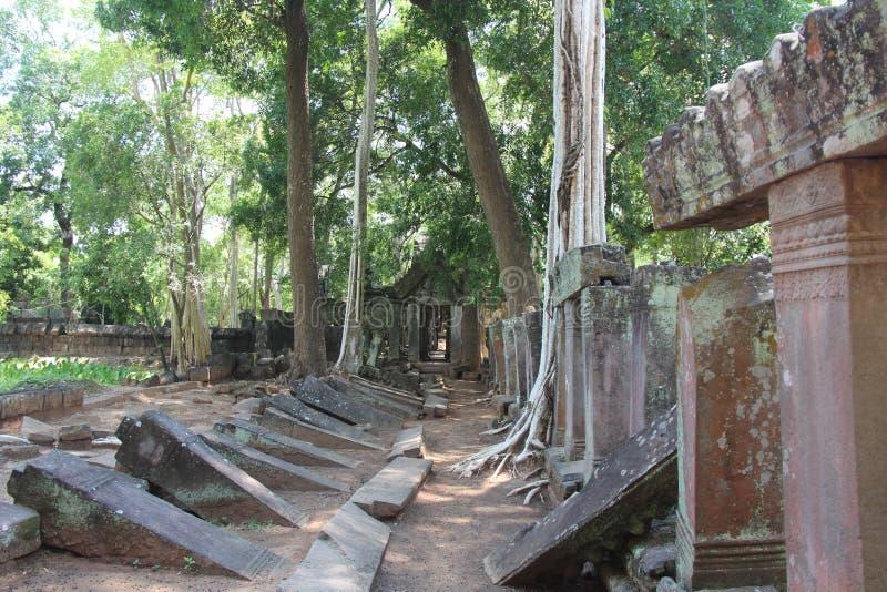 Koh Ker Temple kambodscha Preahvihear-Provinz stockbild