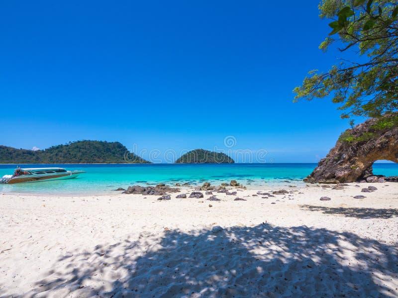 Koh Khai Island, Satun, Thailand royalty-vrije stock afbeelding