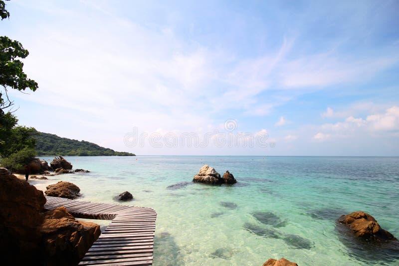 Koh Kham, νησί Kham στοκ φωτογραφία με δικαίωμα ελεύθερης χρήσης