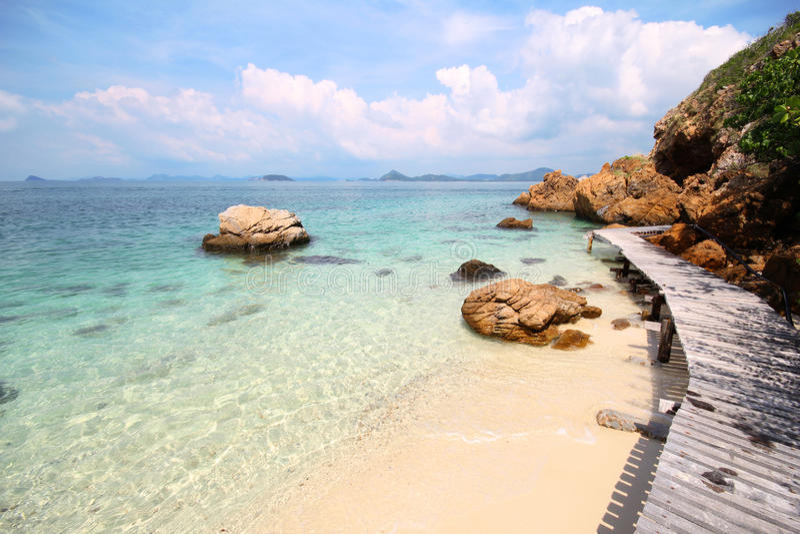 Koh Kham, νησί Kham στοκ εικόνες με δικαίωμα ελεύθερης χρήσης