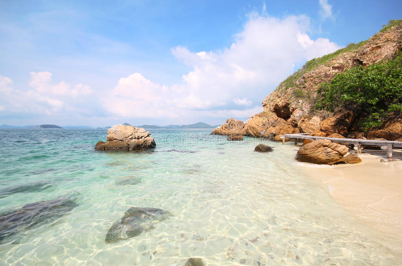Koh Kham, νησί Kham στοκ φωτογραφίες με δικαίωμα ελεύθερης χρήσης