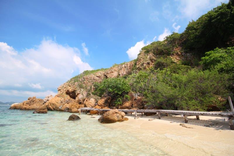 Koh Kham, νησί Kham στοκ εικόνα