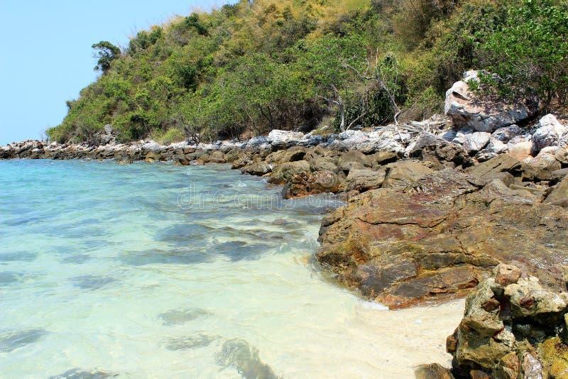 Koh Lan-Insel Thailand stockfotos