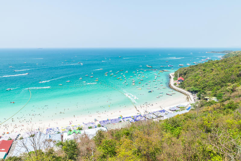 Koh Larn View Point fotografia stock libera da diritti