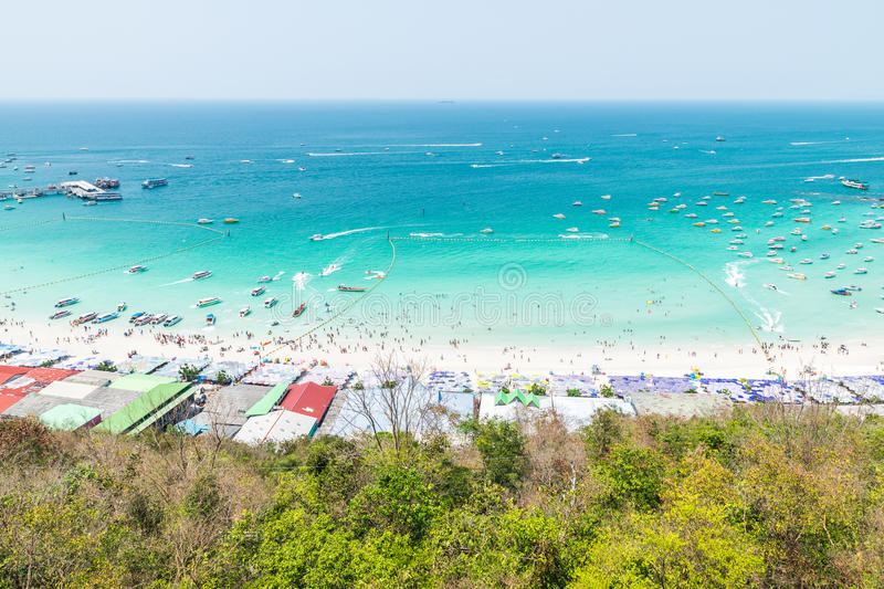 Koh Larn View Point immagine stock