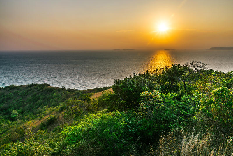 Koh Larn View Point fotografie stock