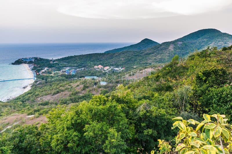 Koh Larn View Point fotografia stock