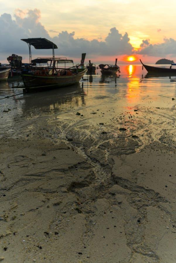 Koh Lipe Sunrise royaltyfri fotografi