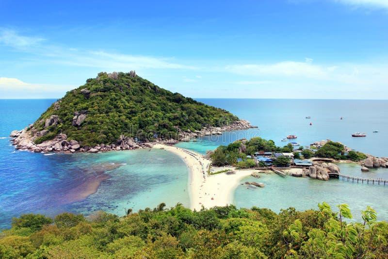 Koh Nang Juan wyspa, Surat, Tajlandia fotografia royalty free