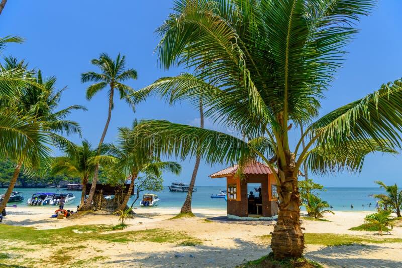 Koh Phaluai, MU Ko Ang Thong National Park, o Golfo da Tailândia, si fotos de stock royalty free