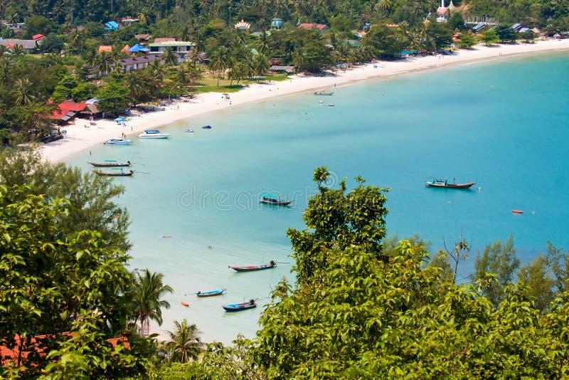 Koh Phangan, Thailand van het eiland. royalty-vrije stock afbeelding