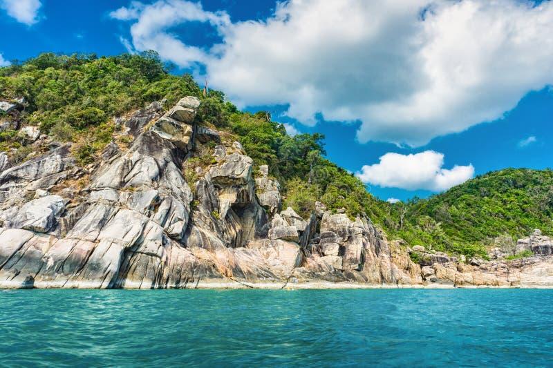Koh Phangan wyspa Tajlandia obraz royalty free