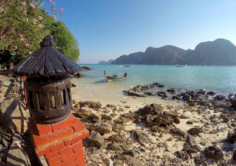 Koh Phi Phi Don Thailand fotografia stock libera da diritti