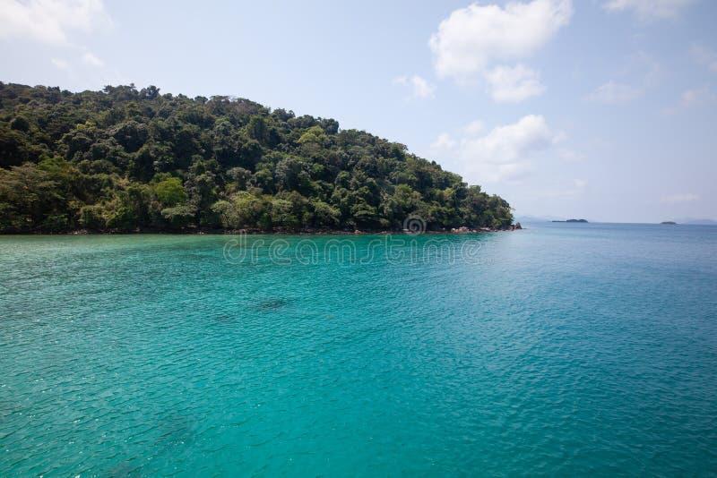 Koh Rang Island National Park dove vicino a Koh Chang, Trat, Tailandia immagine stock