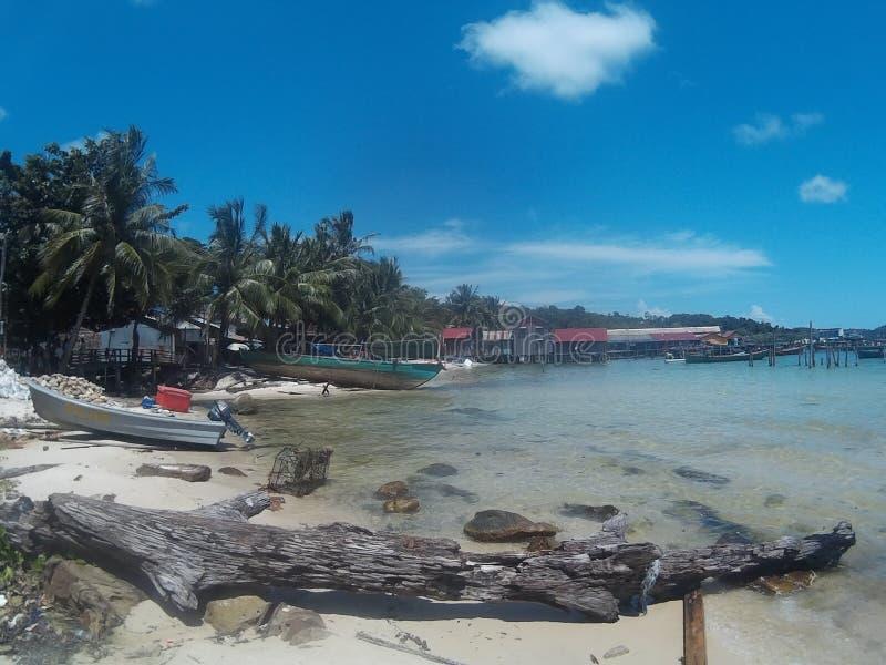 Koh Rong wyspa zdjęcie royalty free