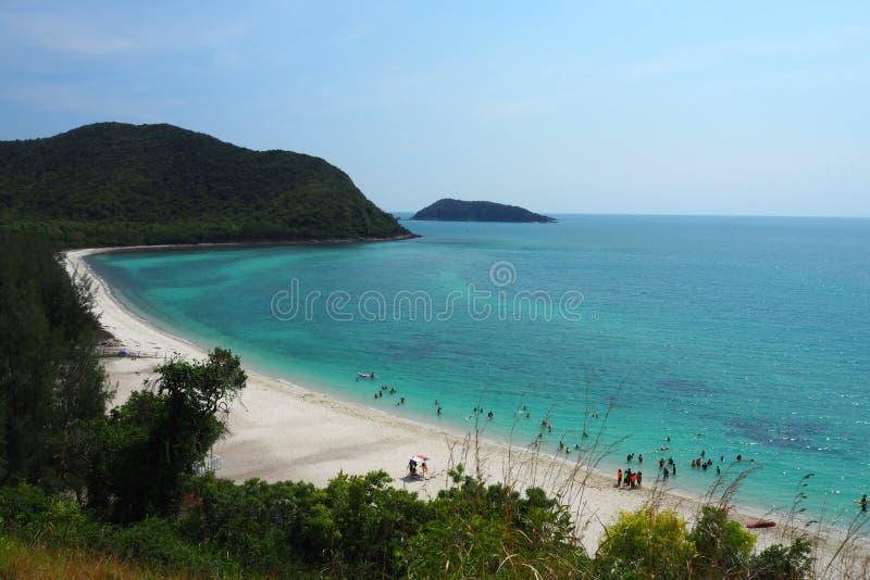 Koh Samaesan Island in Thailand stockbilder