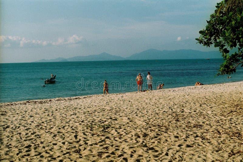 Koh samui& x27 παραλία του s στοκ φωτογραφία