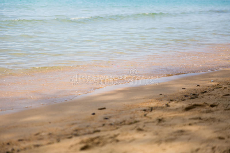 Koh Samui - beach. Sea and sand stock photography