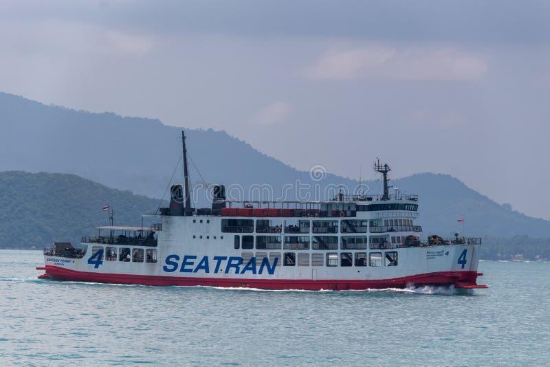 Koh Samui-Inselfähre Thailand stockbilder