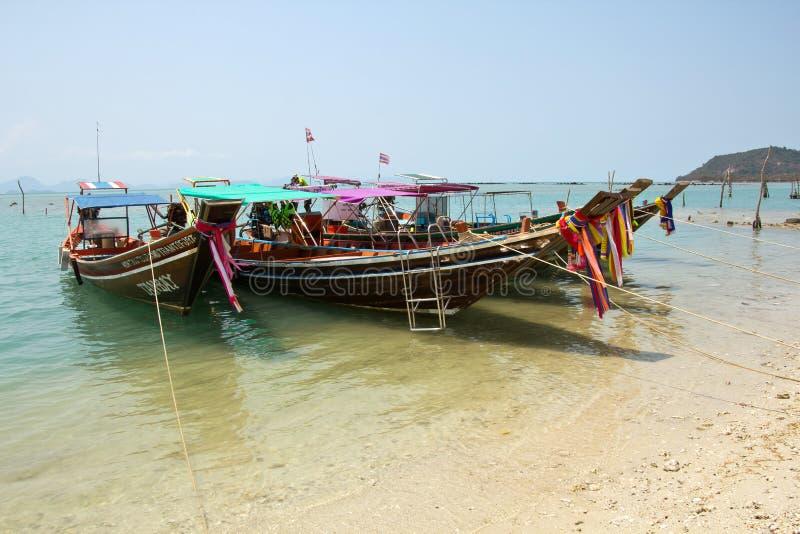 Koh Samui, praia de Krut da tanga foto de stock royalty free