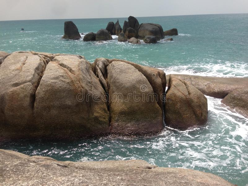 Koh Samui Rock Formations imagen de archivo