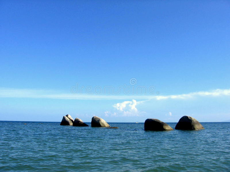 Koh-Samui Rocks! stock photography