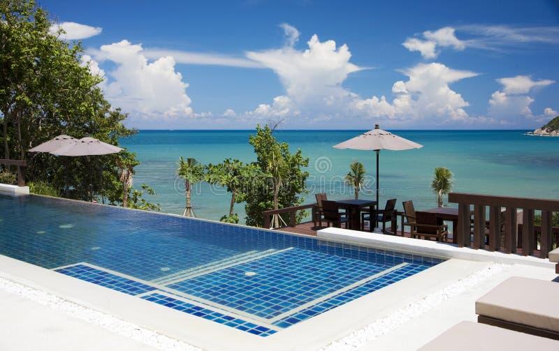 Koh Samui in Thailand. Beach resort in Koh Samui, Thailand stock photo