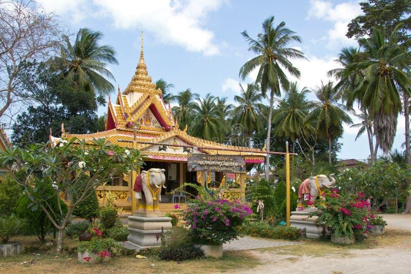 Koh Samui Wat Kiri Wong Karam arkivfoton