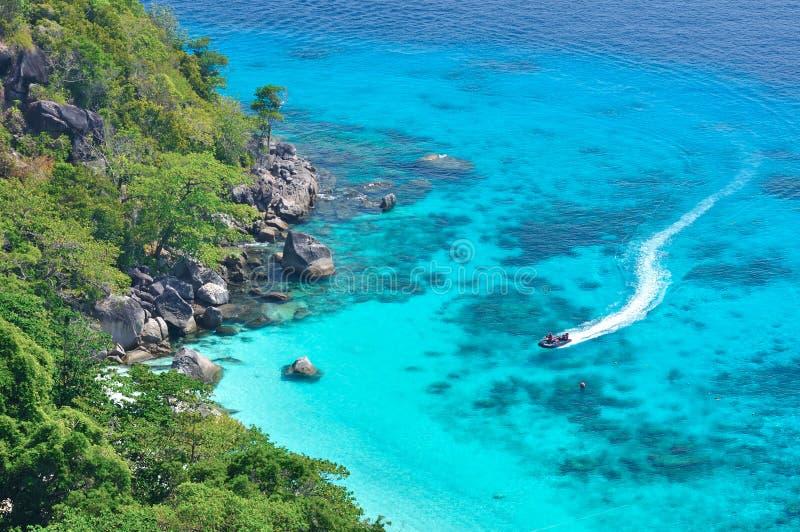 KOH si, Similan Tailandia fotografie stock
