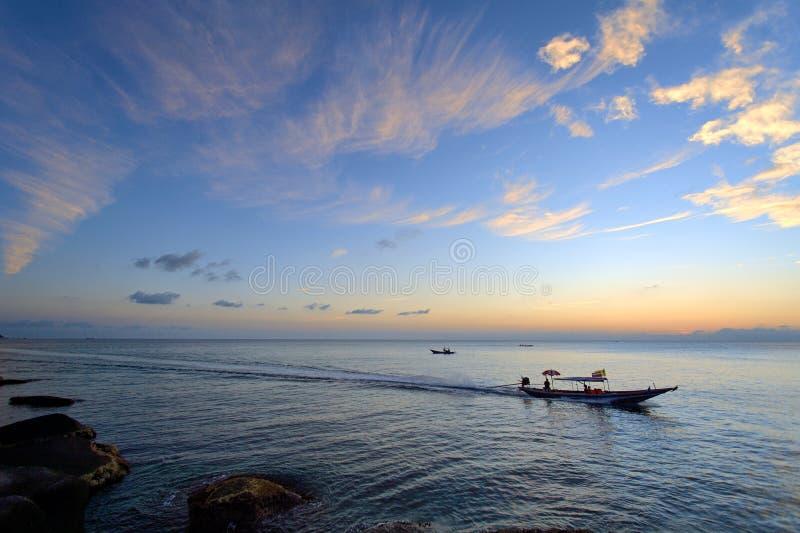 KOH tao de la salida del sol imagen de archivo libre de regalías