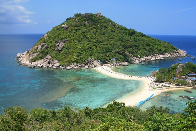 Koh Tao island. View of Koh Tao island (Thailand stock images
