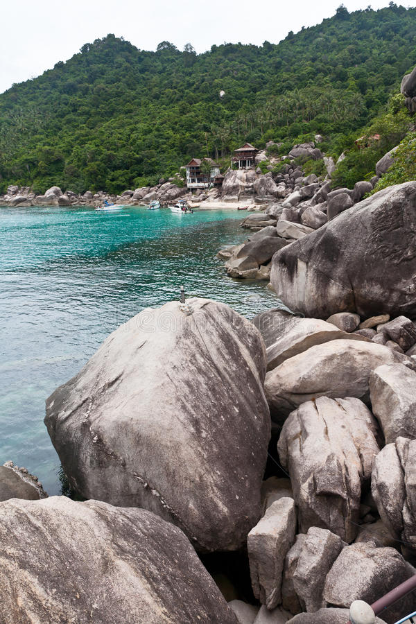 Koh Tao island stock photography