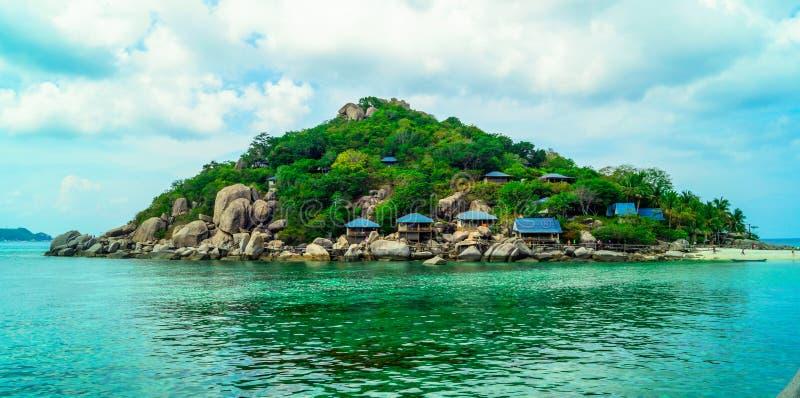 Koh Tao Island. In beautiful sunny day royalty free stock photo