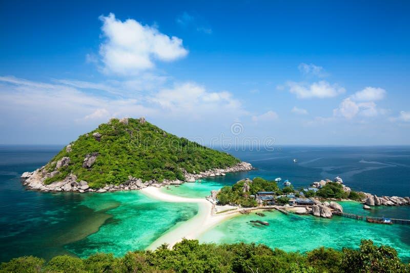 Koh Tao Island em Tailândia fotos de stock royalty free