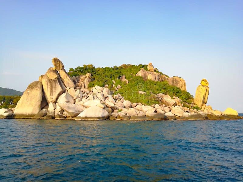 Koh tao. Island, thailand royalty free stock photos