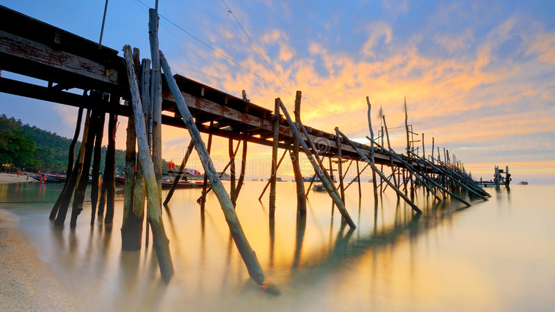 Koh tao. A paradise island in Thailand royalty free stock photo