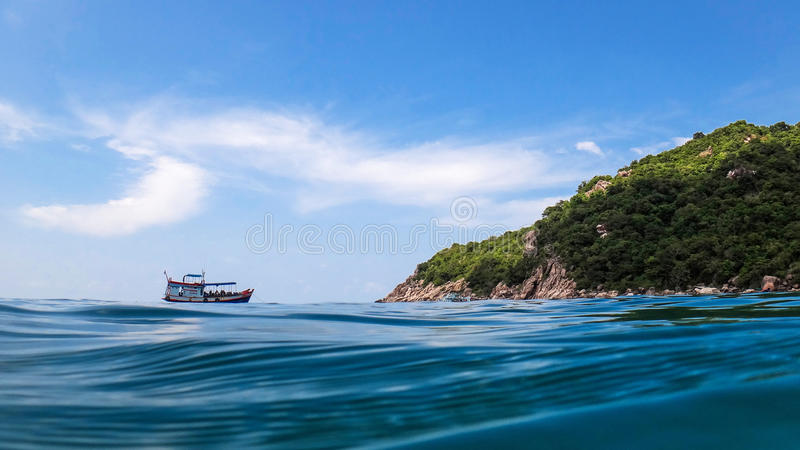 Koh tao. A paradise island in Thailand royalty free stock image