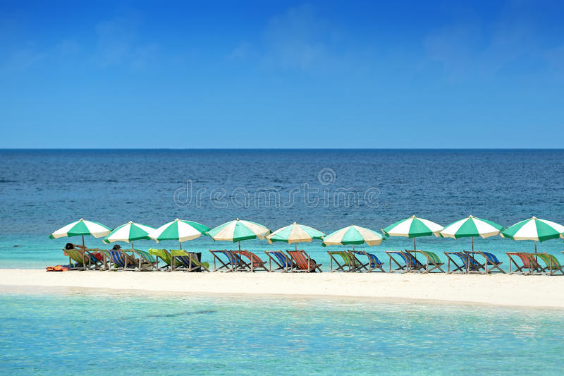 Koh tao. A paradise island in Thailand stock photo