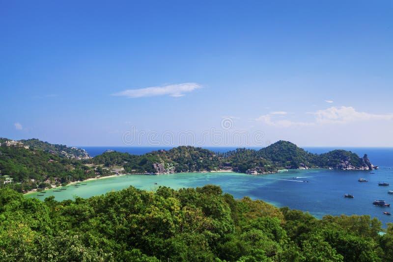 Koh Tao Thailand. Koh Tao Thainland, Haadtien beach stock images