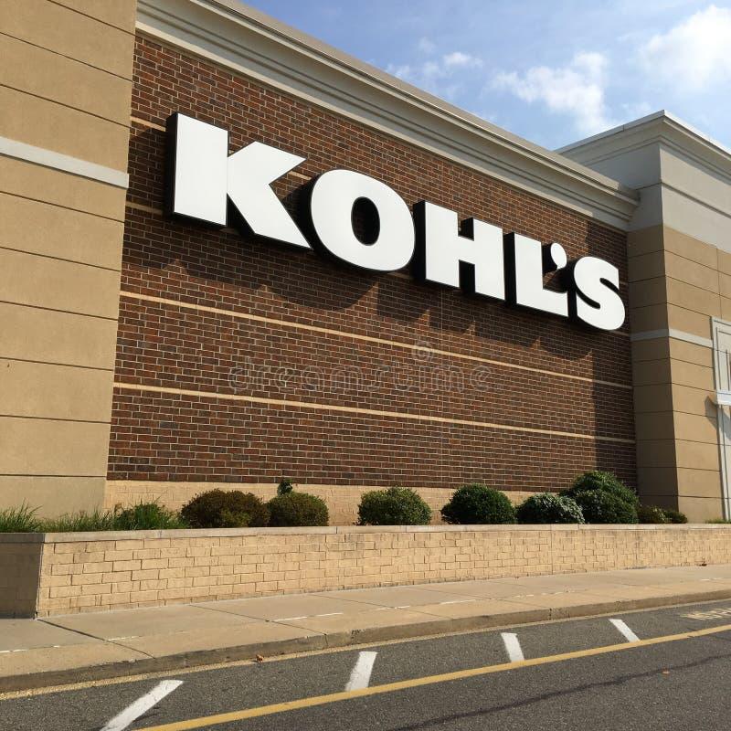 Kohl' deposito di s immagini stock
