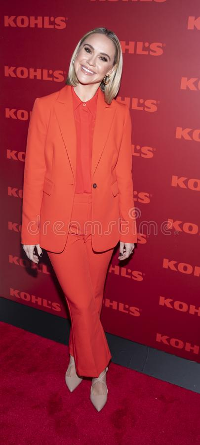 Kohl`s holiday shopping event stock image